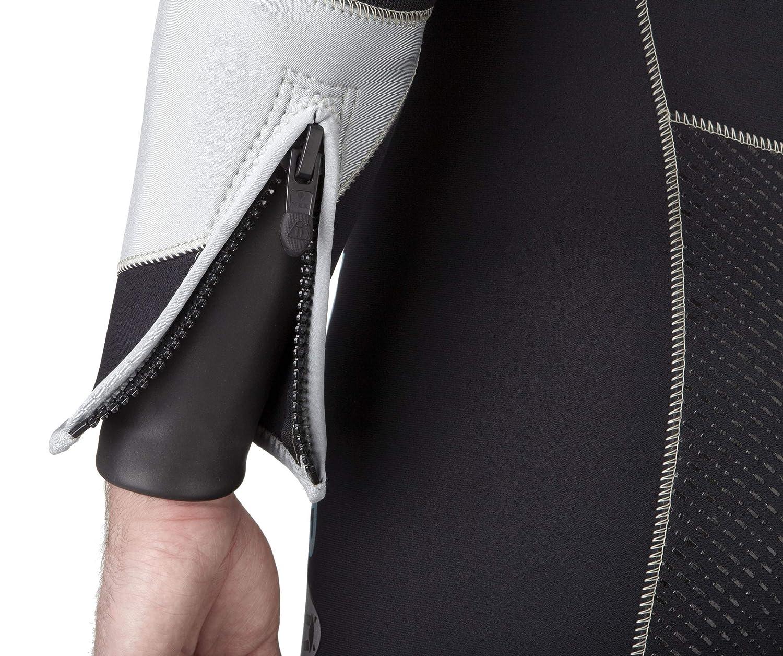 Amazon.com: Impermeable W4 de los hombres 7 mm de traje de ...