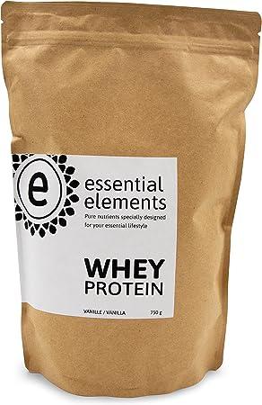 Whey proteína, 750 g, vainilla - la alternativa de proteína en polvo baja en carbohidratos para una nutrición saludable en el medio - hecho en ...