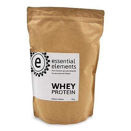 Whey proteína, 750 g, vainilla - la alternativa de proteína en polvo baja en