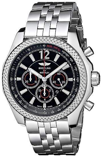 Breitling A4139024-BB82 - Reloj de pulsera hombre, acero inoxidable, color Plata: Amazon.es: Relojes