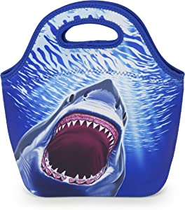 VP Home Insulated Neoprene Lunch Tote Bag (Shark)
