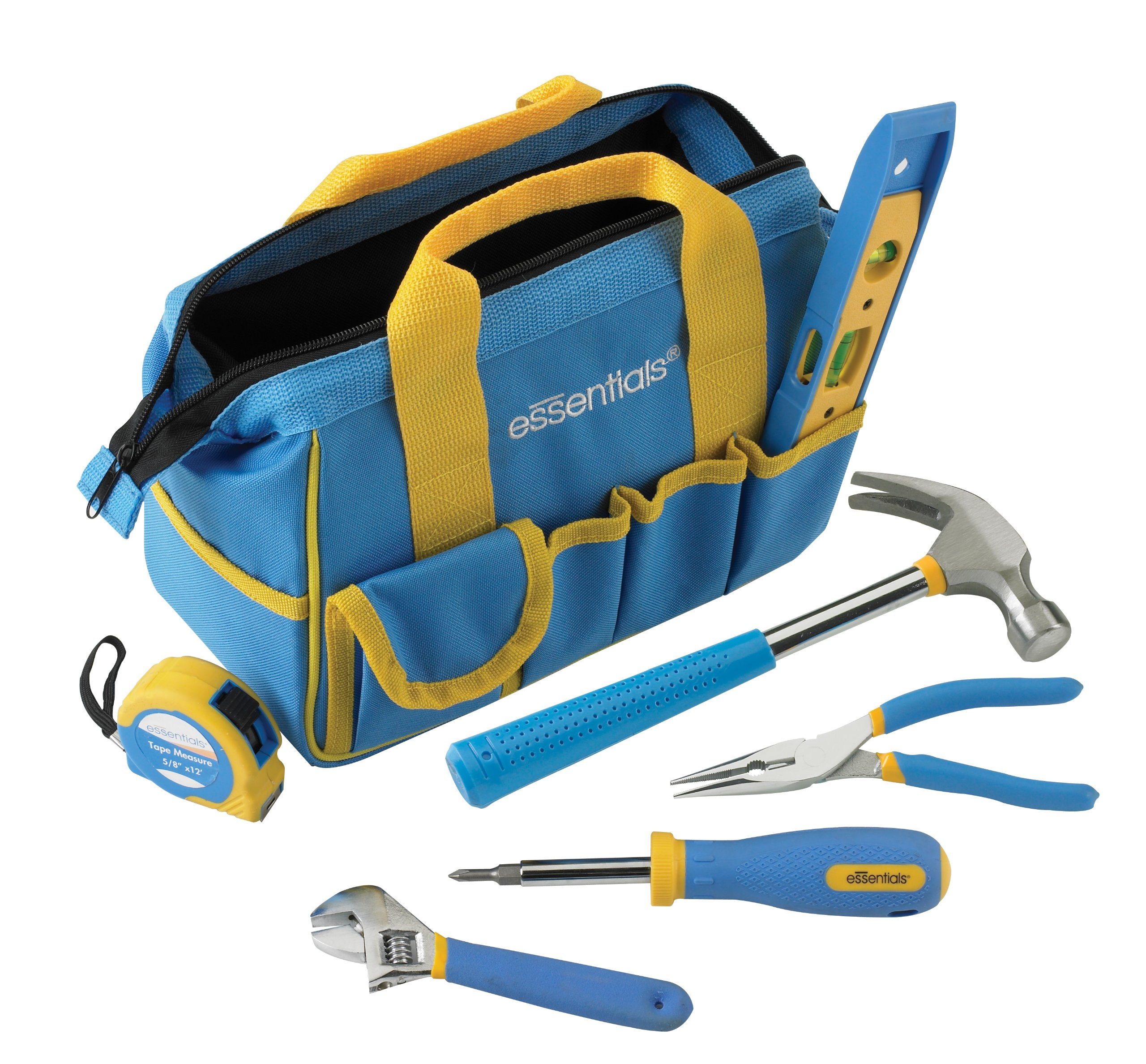 GreatNeck 21045 Essentials 7 Piece Around the House Tool Kit