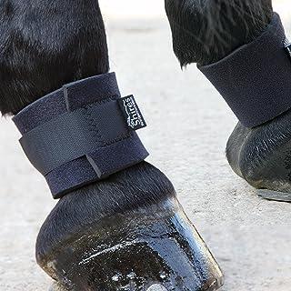 Shires fesselschutz/fesselband épais néoprène pour chevaux, protège contre les chocs, etc.
