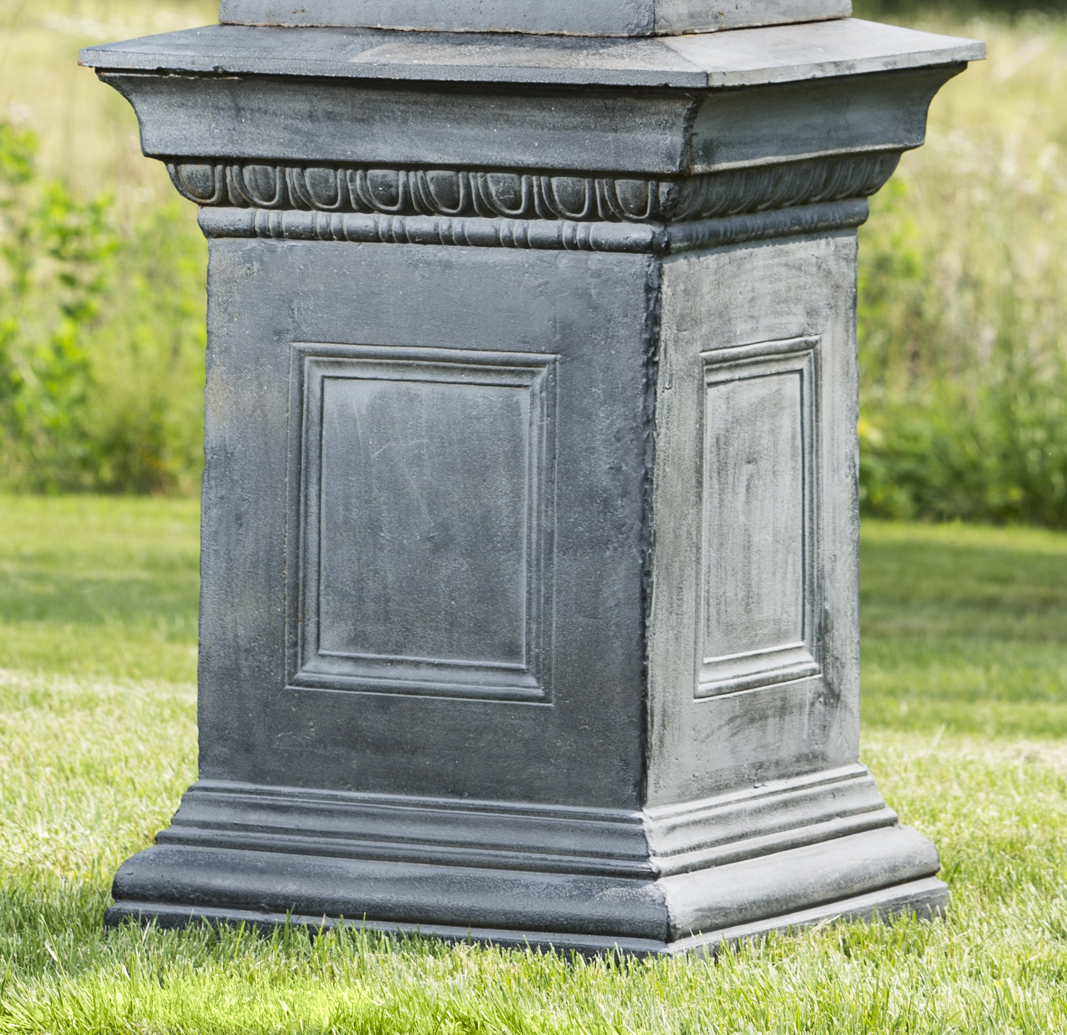 Campania International 7241381 Hillsworth Pedestal, Lead Finish by Campania International