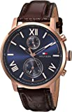Tommy Hilfiger Analogue Blue Dial Men's Watch (1791308)