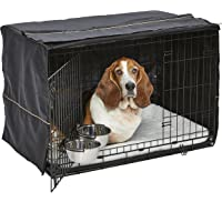 MidWest iCrate Starter Kit | The Perfect Kit for Your New Dog Includes a Dog Crate, Dog Crate…