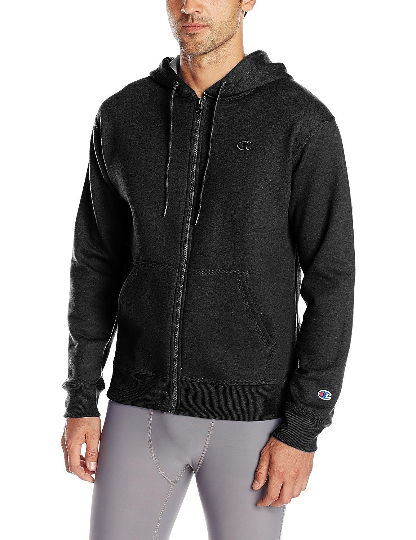 Champion Men's Powerblend Fleece Full Zip Hoodie