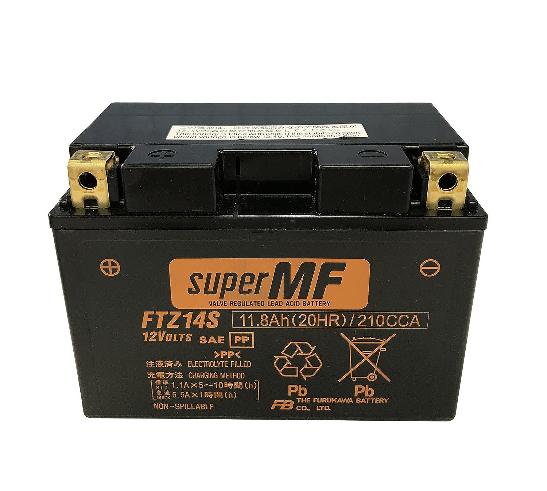 FURUKAWA [ 古河電池 ] シールド型 バイク用バッテリー  [ FTシリーズ ]FTZ14S B019OUQG8G