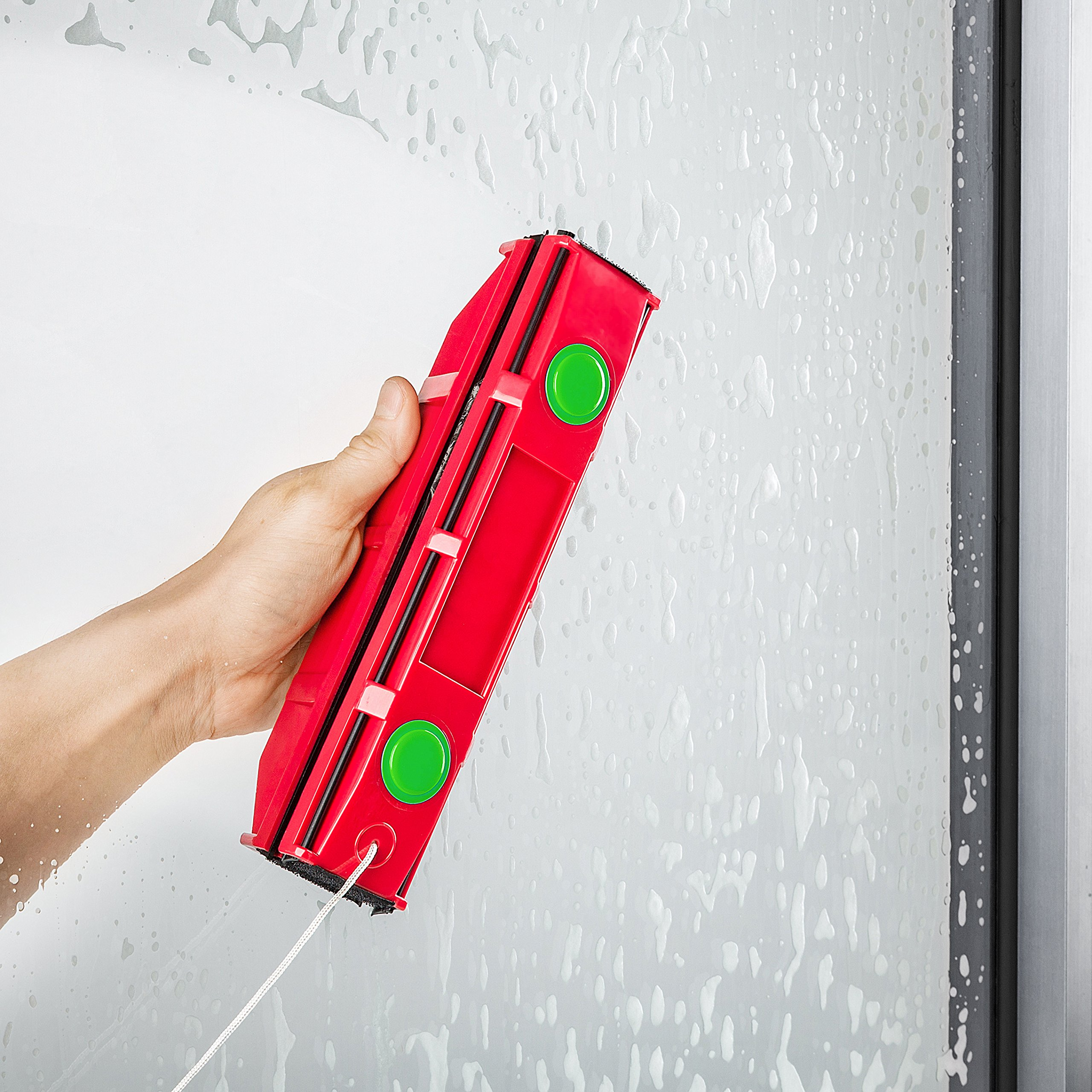 The Glider D-3, Magnetic Window Cleaner for Double Glazed Widows up to 1-1/8'' window thickness by Tyroler Bright Tools (Image #7)