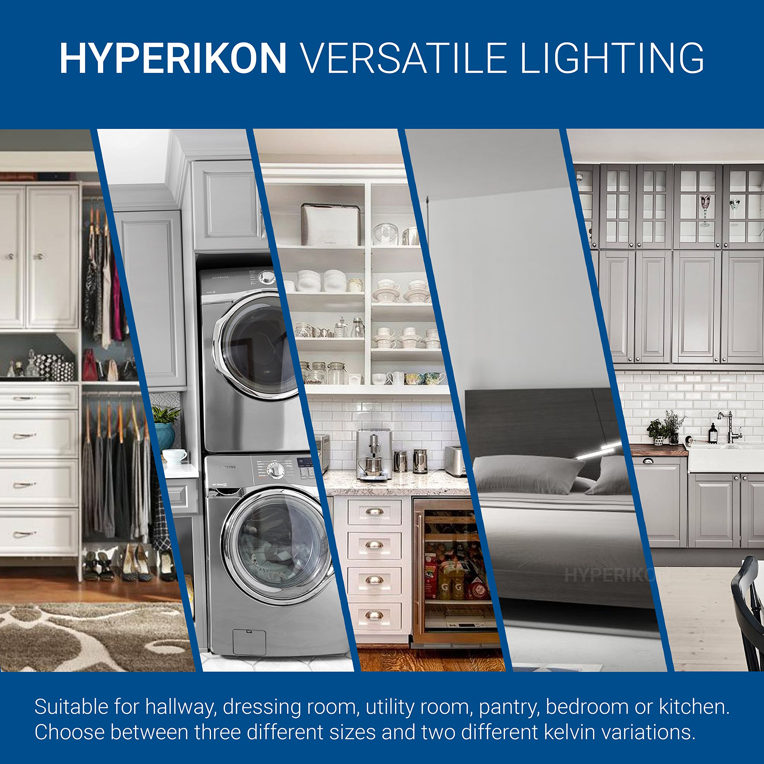 Hyperikon LED Flush Mount Ceiling Light, 14'', 100W equivalent, 1980lm, 4000K (Daylight Glow), 120V, 14-Inch, Dimmable by Hyperikon (Image #10)