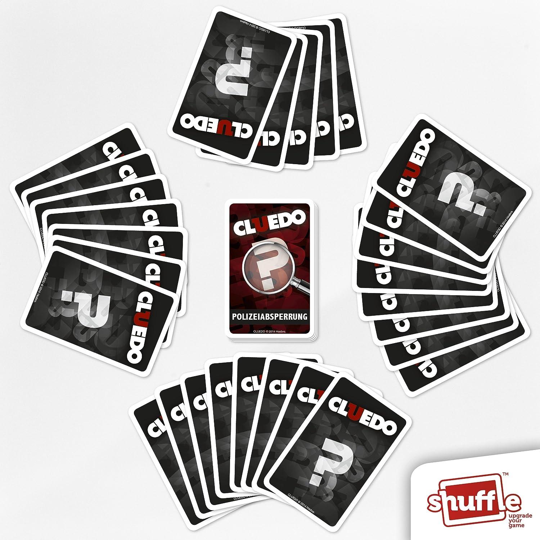 Cartamundi 100204034 - Baraja de Cartas Shuffle, Modelo: Cluedo: Amazon.es: Juguetes y juegos