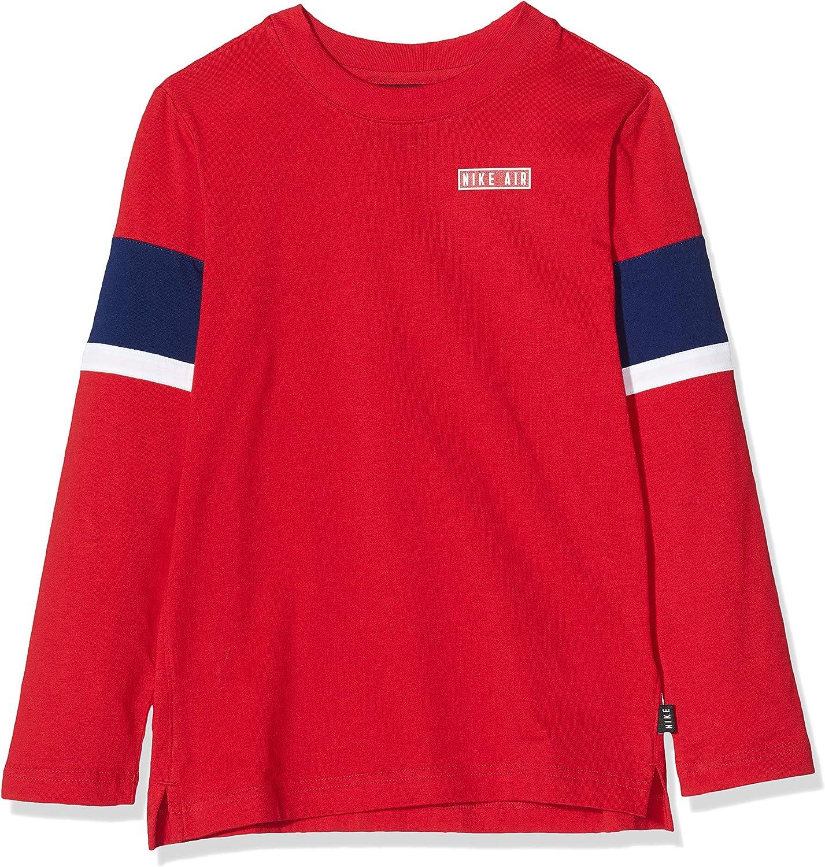 Desconocido Nike Air LS Top Kids Camiseta de Manga Larga, Niños ...