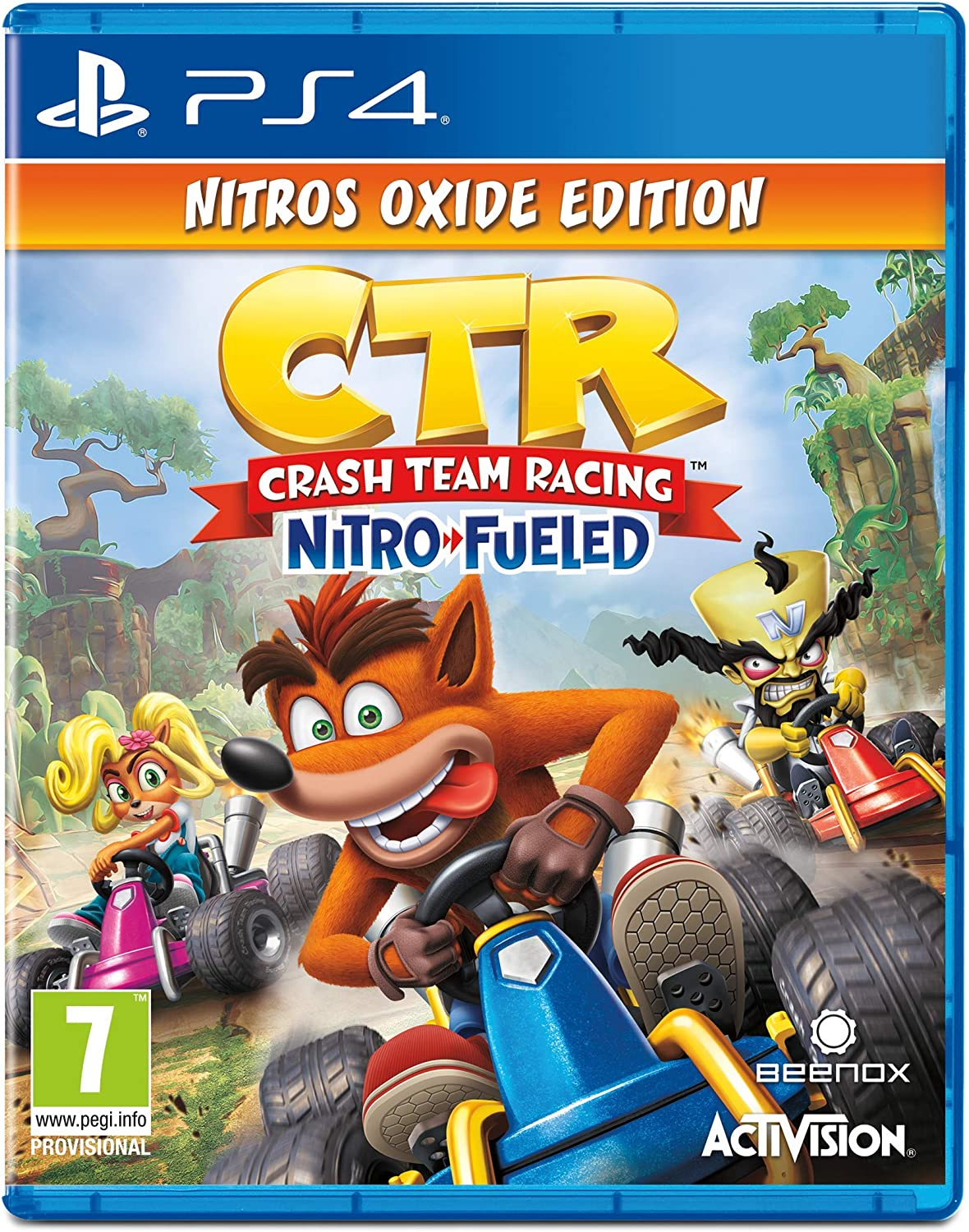 d07f34fd3 Crash Team Racing Nitro-Fueled - Nitros Oxide Edition (PS4): Amazon.co.uk:  PC & Video Games