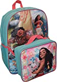 "Disney Girl's Princess Moana 16"" Backpack W/ Detachable Lunch Box"
