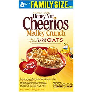 Amazon.com: Honey Nut Cheerios Medley Crunch Cereal 22.5 oz. Box: on planters cookies, planters roasted pecans, planters dry roasted honey, planters pistachios, planters granola bars, planters sesame sticks, planters holiday collection, planters energy mix, planters nutrition, planters go packs, planters logo, planters crackers, planters nuts, planters pecan pieces, planters cashews, planters raised bed garden, planters sweet and salty, planters flavors, planters heart healthy, planters sunflower kernels,