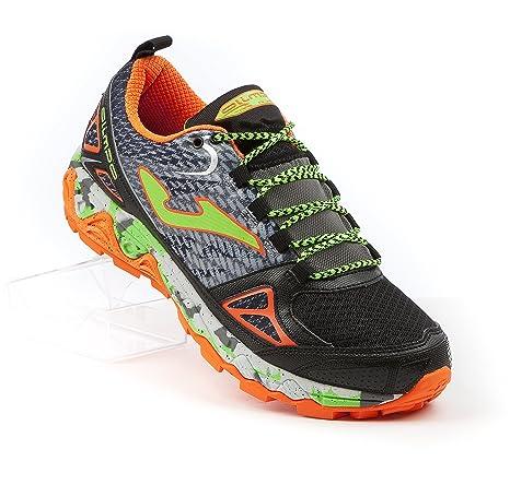 Joma Olimpo Scarpe Trail Running 601-Black Orange 45  Amazon.it ... 8b582891a56