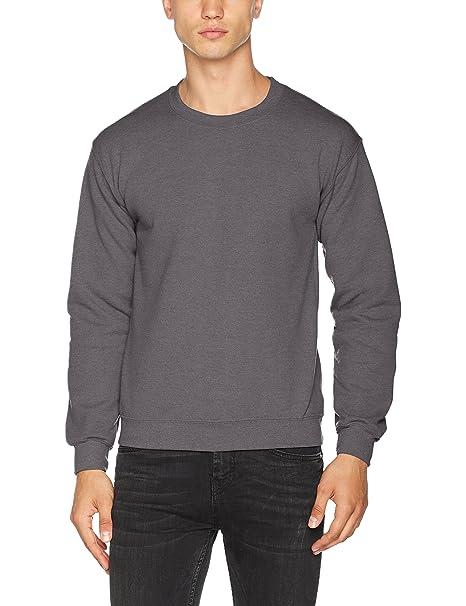 e8233320 Gildan Heavy Blend Unisex Adult Crewneck Sweatshirt (2XL) (Charcoal) at Amazon  Men's Clothing store: Athletic Sweatshirts