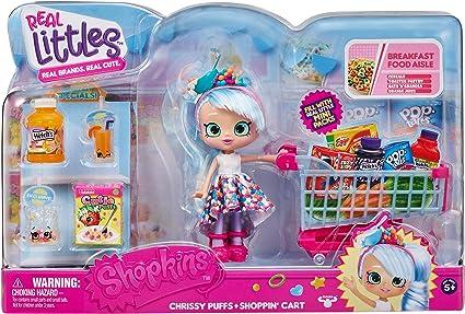 Amazon Com Shopkins Real Littles Shopp N Cart Pack Multicolor 57465 Toys Games