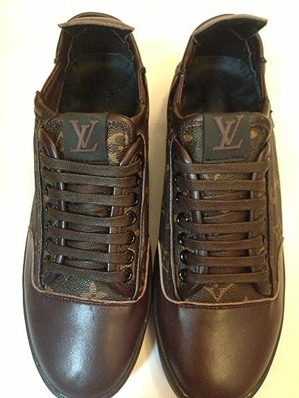 92367ac7779b Louis Vuitton , Mocassins pour homme Noir noir 44  Amazon.fr  Chaussures et  Sacs