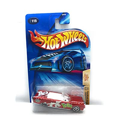 Hot Wheels 2004 Cereal Crunchers 3/5 Lincoln Continental 1964 115 RED Trix: Toys & Games