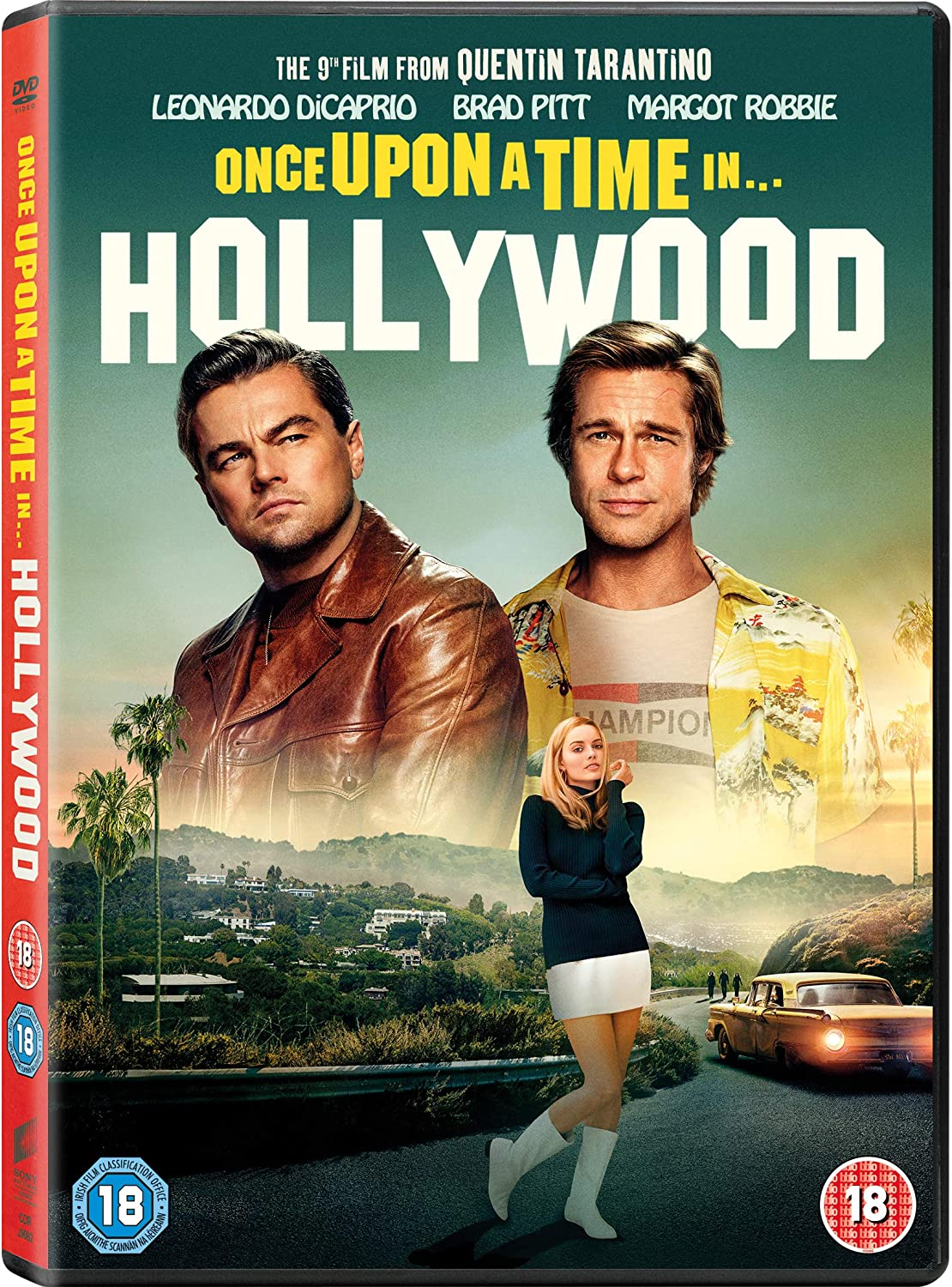 Once Upon A Time In Hollywood Dvd 2019 Amazon Co Uk Leonardo Dicaprio Brad Pitt Margot Robbie Emile Hirsch Margaret Qualley Timothy Olyphant Julia Butters Austin Butler Dakota Fanning Bruce Dern Mike Moh Luke