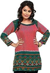 Women Fashion Casual Short Indian Kurti Tunic Kurta Top Shirt Dress 55B