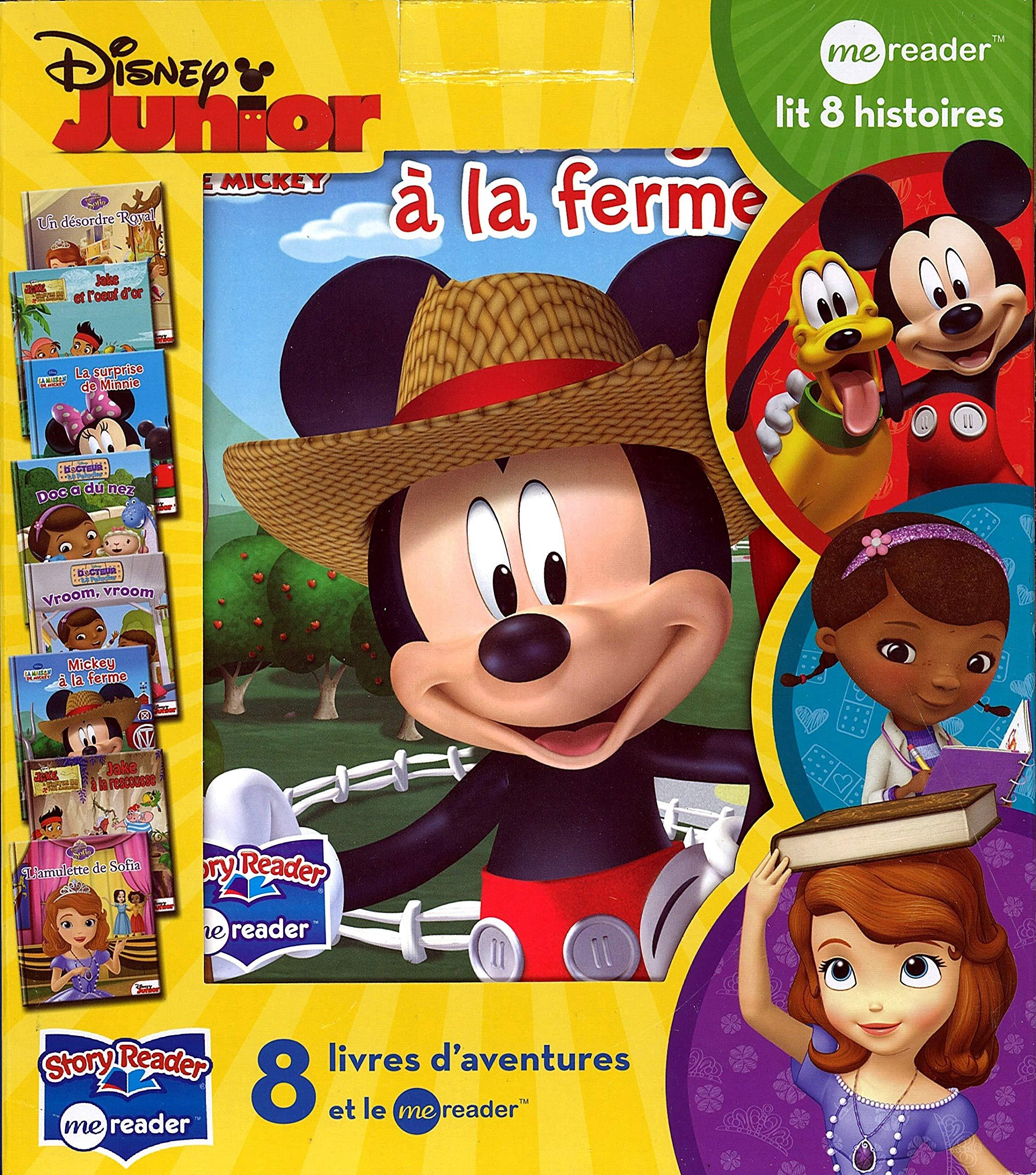 8 Livres D Aventure Et Le Me Reader Disney Junior L