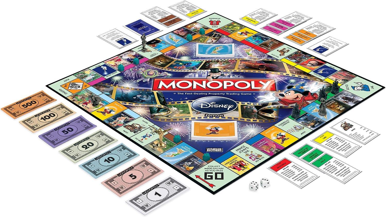 elija. Juego Monopolio DISNEY de 2001 piezas de repuesto