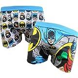 Batman Herren Boxer Trunks Zwei Pack