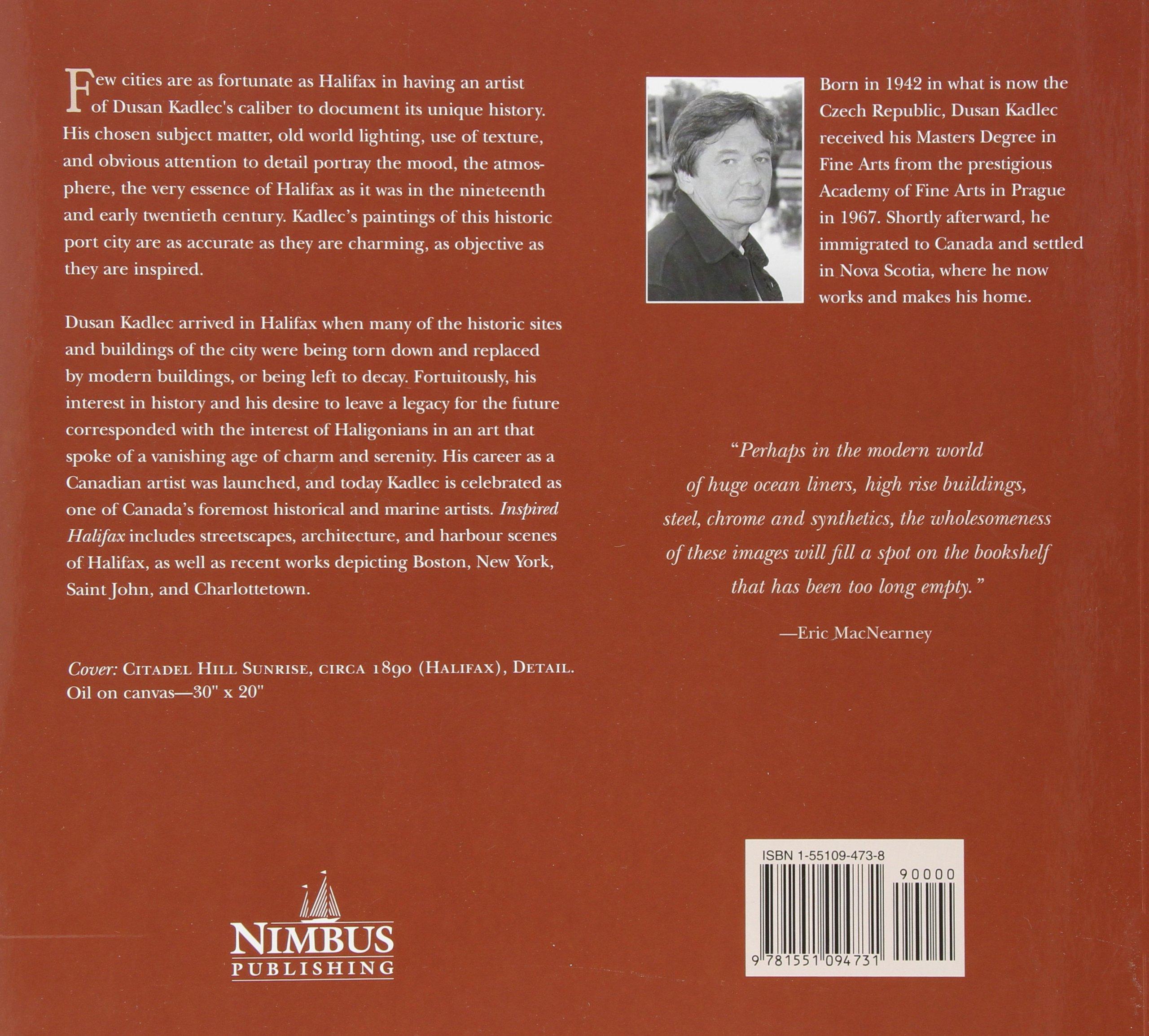 Inspired halifax cynthia mahoney dusan kadlec 9781551094731 inspired halifax cynthia mahoney dusan kadlec 9781551094731 books amazon aiddatafo Gallery