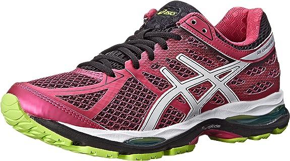 ASICS Zapatillas para correr Gel-Cumulus 17 para mujer, Magenta / Blanco / Negro, 9 M US: Amazon.es: Zapatos y complementos