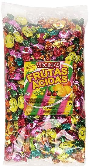 Virginias - Frutas ácidas - Caramelos con sabor a frutas - 1 kg