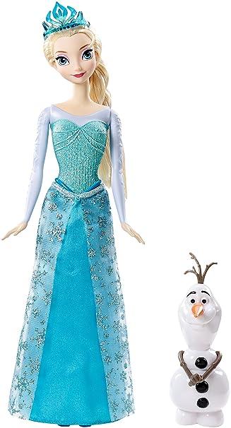 Disney Frozen Sparkle Princess Elsa And Olaf Doll Gift Amazon De