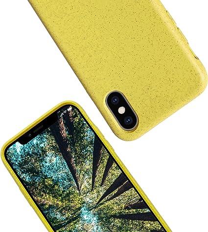 eplanita Eco Funda para iPhone X/XS/XS MAX, Biodegradable y ...
