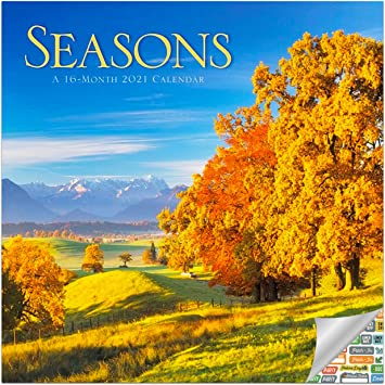 Seasons Calendar 2021 Amazon.: Seasons Calendar 2021 Bundle   Deluxe 2021 4 Seasons