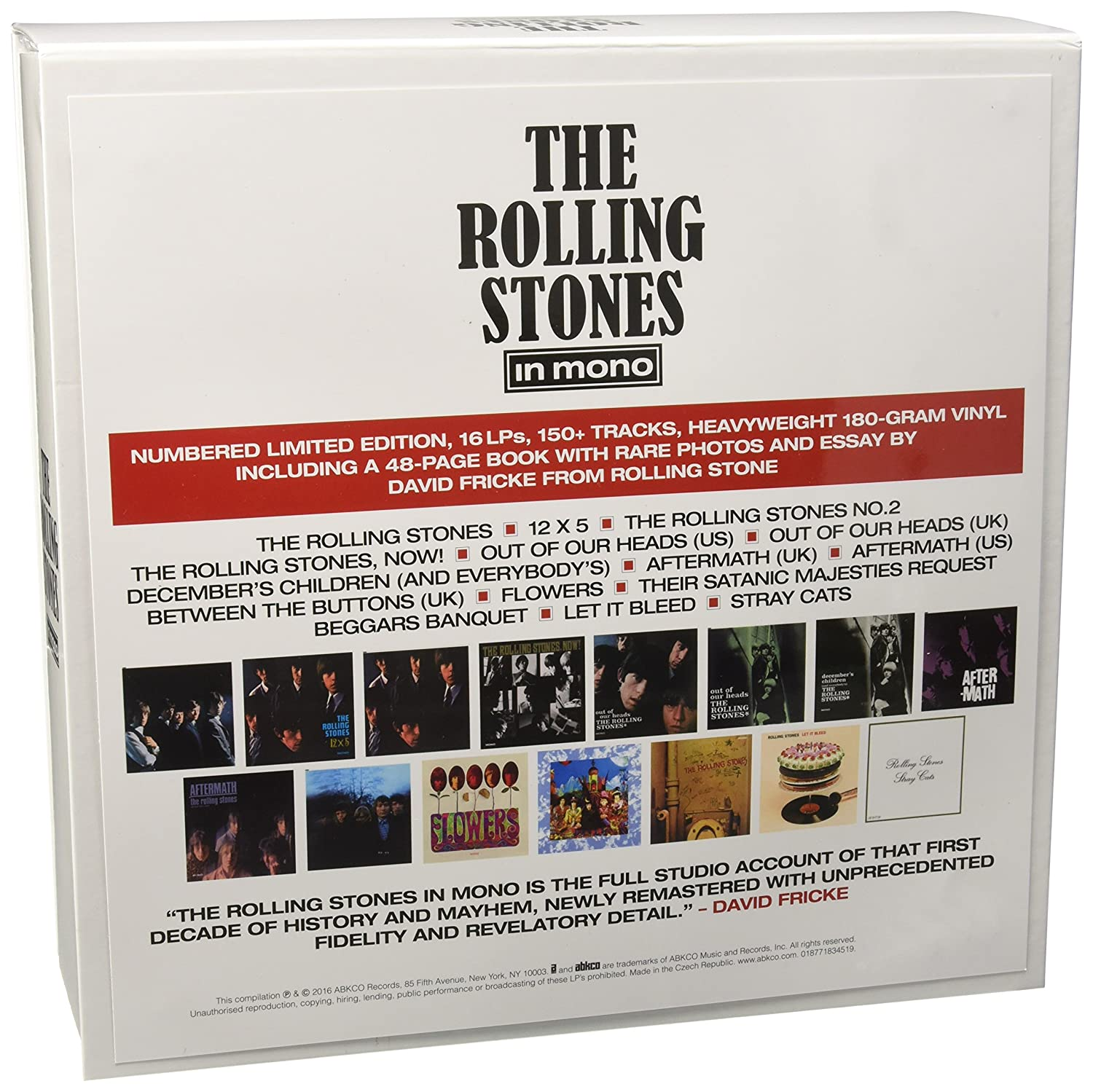 Bildergebnis für fotos über the studio albums vinyl collection the rolling stones