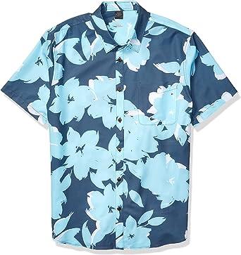 Quiksilver Tech Floral Bomb - Camisa para hombre: Amazon.es: Ropa y accesorios