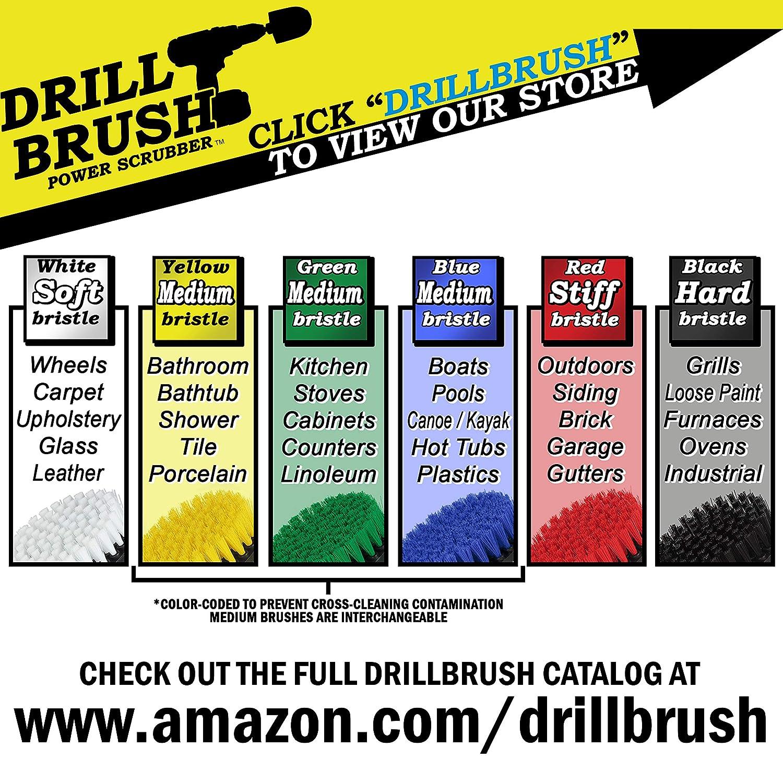 Amazon.com: Juego de 3 cepillos para limpieza para conectar ...