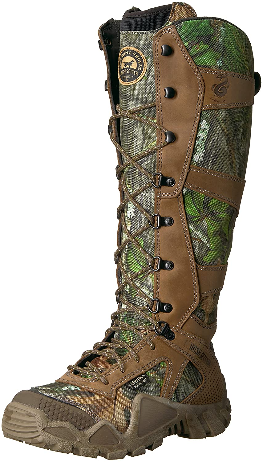 Irish Setter Women's Vaprtrek 1821 Knee High Boot B073HJC3M8 11 B(M) US|Mossy Oak Obsession Camouflage