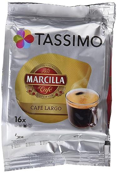 TASSIMO MARCILLA CAFÉ LARGO - [Pack de 5]
