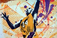 NBA 2K10 Limited Edition Kobe Bryant Poster 16x36 only available in Anniversary Edition