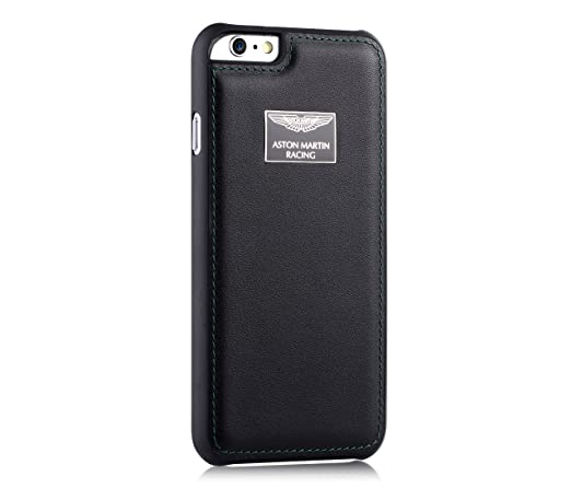pretty nice 42d73 58377 Aston Martin Racing Luxury Leather Back Case Cover For Apple Iphone 6 Plus
