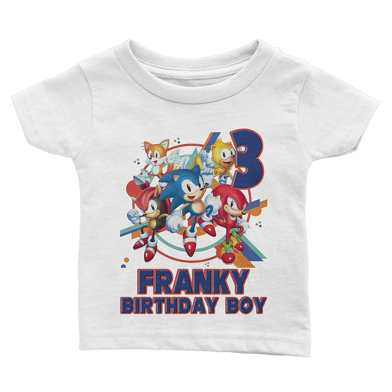 Custom Sonic Birthday Shirt