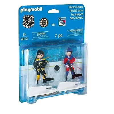 PLAYMOBIL NHL Rivalry Series - BOS vs NYR: Toys & Games