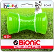Outward Hound Kyjen 30089 Bionic Bone Durable Tough Fetch and Chew Toy for Dogs, Small, Green