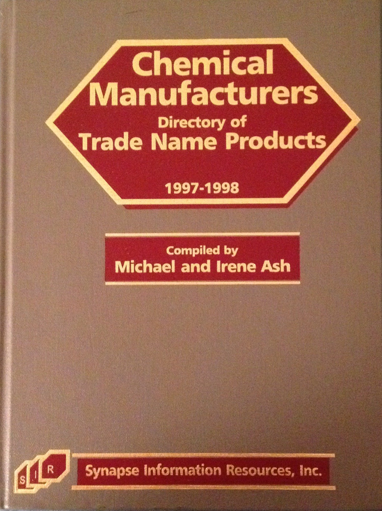 Chemical Manufacturers Directory of Trade Name Products 1997-1998