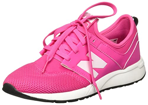 New Balance - Zapatillas para Niño Pink Flamingo/White