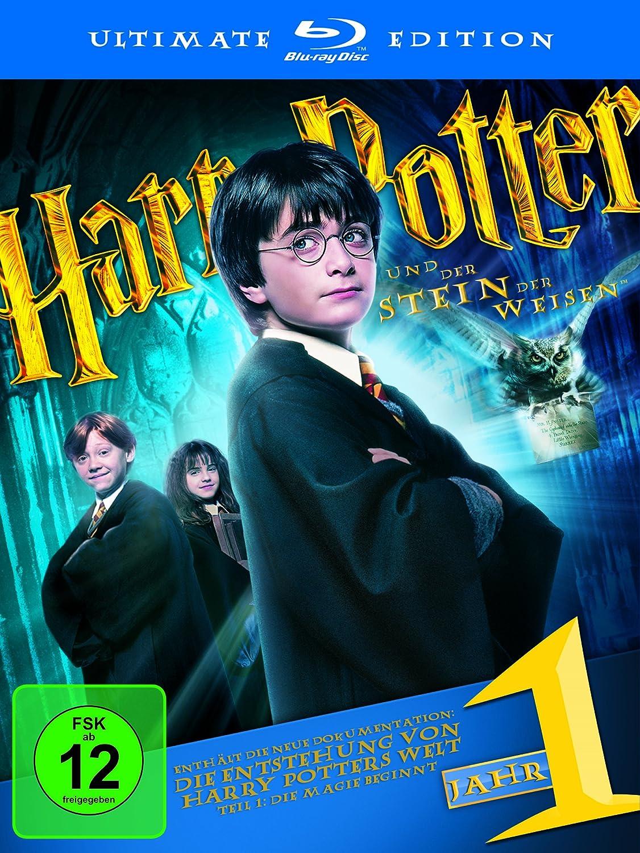 Harry Potter 1 Ultimate Edition Amazon Co Uk Dvd Blu Ray
