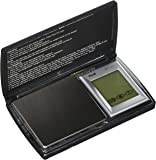 American Weigh Scale Bt2-201 Digital Gram Pocket Grain Jewelry Scale, Black, 200 X 0.01 G by American Weigh Scale