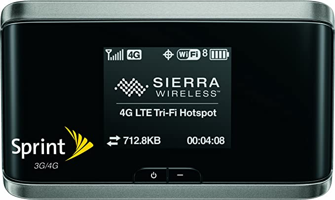 amazon com sierra wireless tri fi 4g mobile hotspot sprint cell rh amazon com Sprint MiFi Set Up Sprint MiFi 4082 Reset